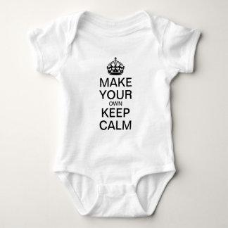 Body Para Bebé Haga que sus los propios guardan la enredadera