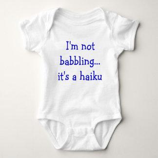 Body Para Bebé Haiku del bebé