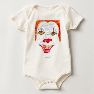 Body Para Bebé Halloween Clown2 asustadizo
