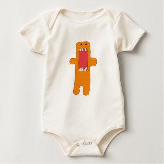 Body Para Bebé Hambre del tiene del naranja del monstruo del EL