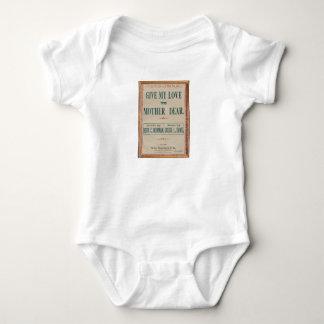Body Para Bebé HAMbyWG - dé mi amor a la madre estimada