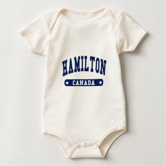 Body Para Bebé Hamilton