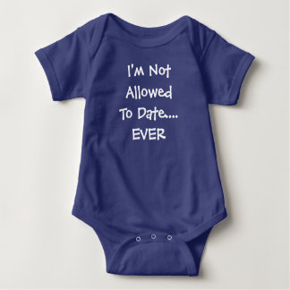 Body Para Bebé Hasta la fecha a me se prohibe NUNCA el mono del