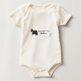 Body Para Bebé hermana del sheltie