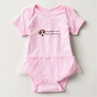 Body Para Bebé hermana del terrier de Russell del enchufe