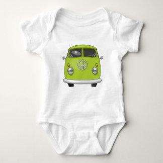 Body Para Bebé Hippie 1960 Van