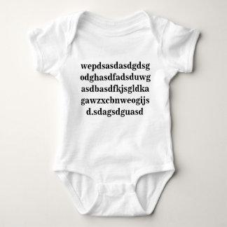 Body Para Bebé Hizo el diseño del bebé esto