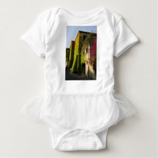 Body Para Bebé Hojas coloridas en las paredes de la casa