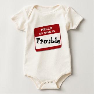 Body Para Bebé HOLA MI NOMBRE ES… problema
