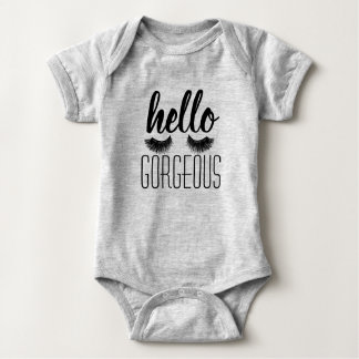 """Body Para Bebé """"Hola"""" una pieza magnífica del bebé"""