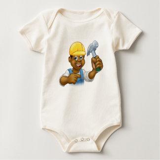 Body Para Bebé Hombre del martillo del carpintero de la manitas