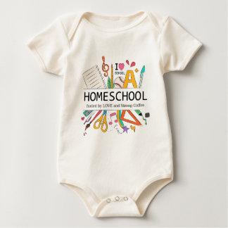 Body Para Bebé Homeschool aprovisionó de combustible por amor y