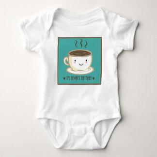 Body Para Bebé Hora para el puente de bebé del té