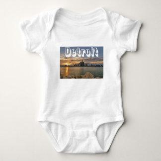 Body Para Bebé Horizonte de Detroit