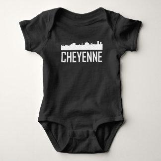 Body Para Bebé Horizonte de la ciudad de Cheyenne Wyoming