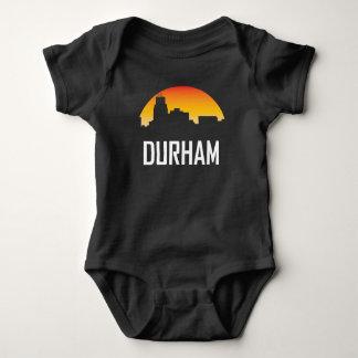 Body Para Bebé Horizonte de la puesta del sol de Durham Carolina