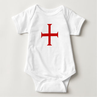 Body Para Bebé hospitall teutónico templar de Malta de la Cruz