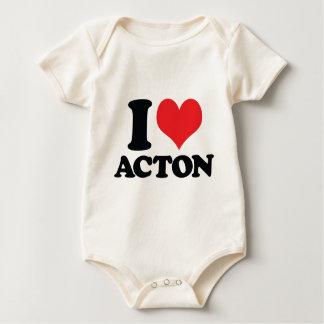 Body Para Bebé I corazón/amor Acton