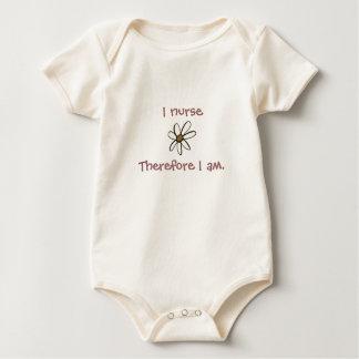 Body Para Bebé I nurseTherefore I Am.