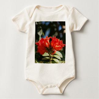 Body Para Bebé iFlowers de un tuliptree africano