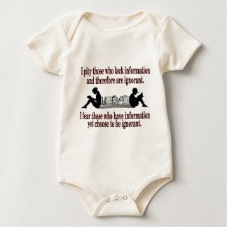 Body Para Bebé ignorancia elegida