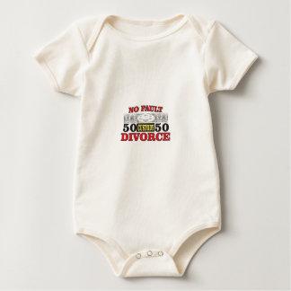 Body Para Bebé igualdad 50 del divorcio sin faltas 50