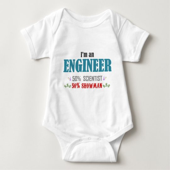 Body Para Bebé I'm an engineer