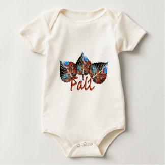 Body Para Bebé Imagen de la hoja de la caída