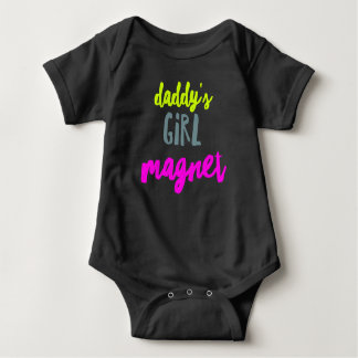 Body Para Bebé Imán del chica del papá