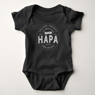 Body Para Bebé Impresionante medio blanco a medias asiático del