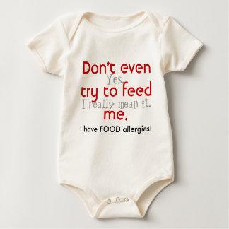 Body Para Bebé ¡Incluso no intente alimentarme!