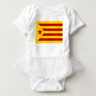 Body Para Bebé Independentista Catalana de Estelada Roja - de