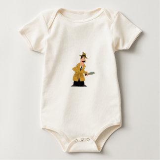 Body Para Bebé individuo del poli en el vagabundeo