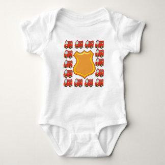 Body Para Bebé Insignia y Firetruck adaptables