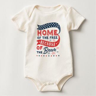 Body Para Bebé Inspiración a casa del mono libre del día de