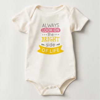 Body Para Bebé Inspirado la parte positiva del mono de la vida el