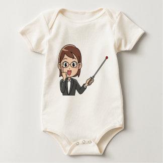Body Para Bebé Instructor de la mujer