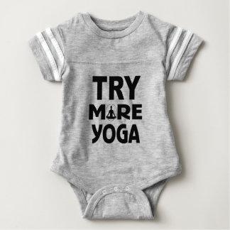Body Para Bebé Intente más yoga