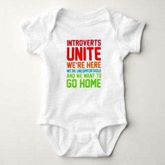 Body Para Bebé INTROVERTS NOS UNEN están AQUÍ NOSOTROS son