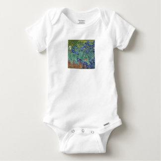 Body Para Bebé Iris de Vincent van Gogh que pintan el trabajo de