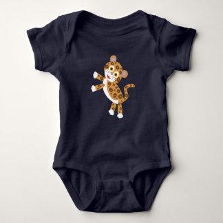 Body Para Bebé Jaguar - bebé de la selva tropical