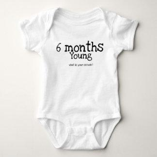 Body Para Bebé Jalón mensual del bebé