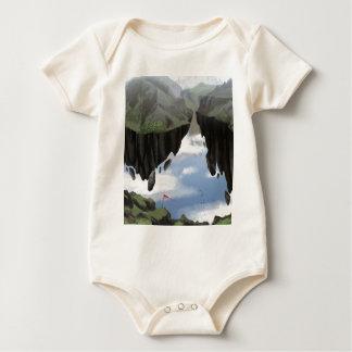 Body Para Bebé Jardín de dioses