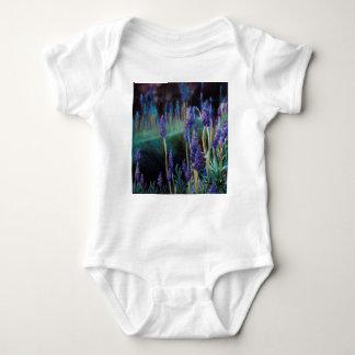 Body Para Bebé Jardín por la charca en el crepúsculo