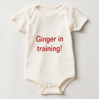 Body Para Bebé ¡Jengibre en el entrenamiento!