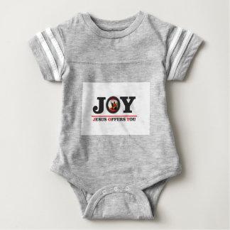 Body Para Bebé Jesús le ofrece la etiqueta de la alegría