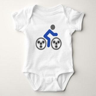 Body Para Bebé Jinete del hilandero de la persona agitada
