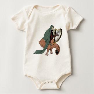 Body Para Bebé Jinete oscuro que toca la arpa