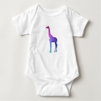 Body Para Bebé Jirafa geométrica con idea vibrante del regalo de