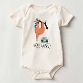 Body Para Bebé Juerguista de la pereza